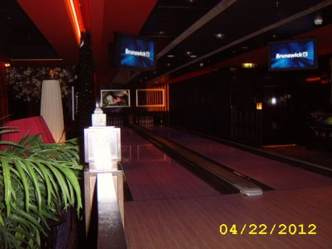 Cruise Ship Bowling Alley