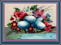 Good Morning Spring - Victorian Post Card