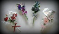 Crafts - Dolls Houses - 12th Scale Floral Bouquets - Mixed (Small)