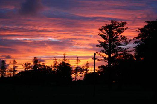Sunset: Norfold Island