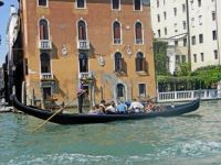 15. another view of gondolier, Italy 2011