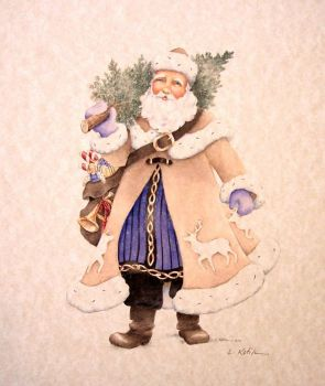Old World Santa 2 by L. Kotila