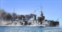 French pre-dreadnought battleship Carnot in 1896