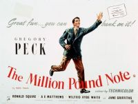 THE MILLION POUND NOTE - 1954 POSTER - GREGORY PECK