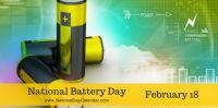 Today Is National Battery Day!!