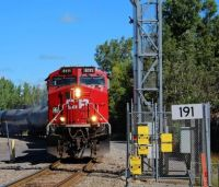 CP 650 Crossing the Border Rouses Point, NY