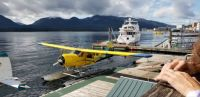 De Havilland float plane
