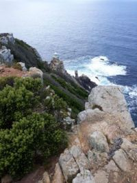 Cape Point Lighthouse.   Cape Point, Cape Town, South Africa