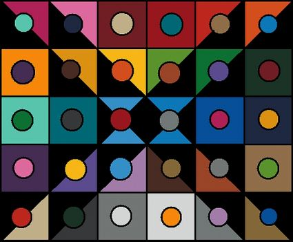 Color Patches with Circles