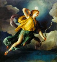 Diana as Personification of the Night