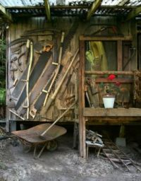 Garden Shed of Tools