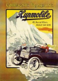 1900s Hupmobile illustrated by G. Cornil