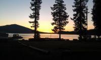 Sunrise at Odell Lake, Oregon