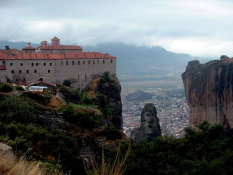 The Holy Monastery of Varlaam in Meteora, Greece