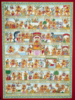 Phad paintings from Rajasthan