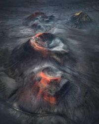 Lava in Iceland by James Rushforth