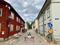 An alley in Örebro, Sweden
