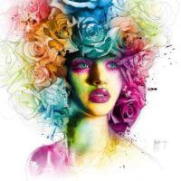 4  ~  'Une Coiffure de Roses'