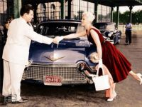 1957 Series 75 Cadillac with Kim Novak