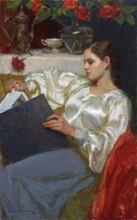 'Woman Art Portrait'