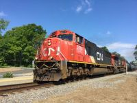 CP 930 South at Port Kent, NY with CN Power