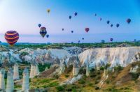 Hot Air Balloons Turkey Fairy Chimneys