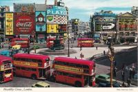 Postcard & envelope pictures 038 - Piccadilly Circus, London (UK)