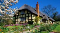 English Cottage in Spring