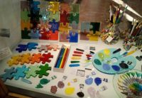 Glass puzzles and all