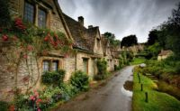 Country Town, Bibury England