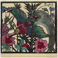 Margaret Preston. Bird of Paradise