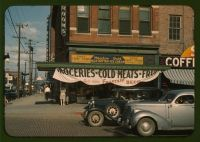 Eagle Fruit Store and Capital Hotel, Lincoln, Nebraska 1942 (John Vachon, Library of Congress)