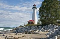 Crisp Point Lighthouse - Upper Peninsula, MI