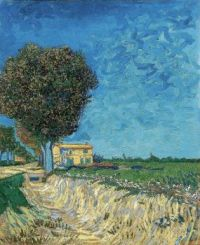 Vincent van Gogh - A Lane Near Arles - 1888