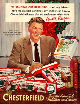 Reagan Christmas Cigs