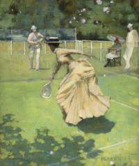 "Sir John Lavery, ""Played!"", 1885"
