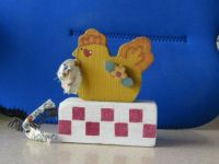 Wooden Block Chicken