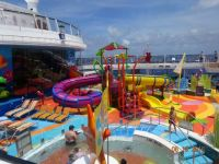 water play park on the Ovation of the Sea