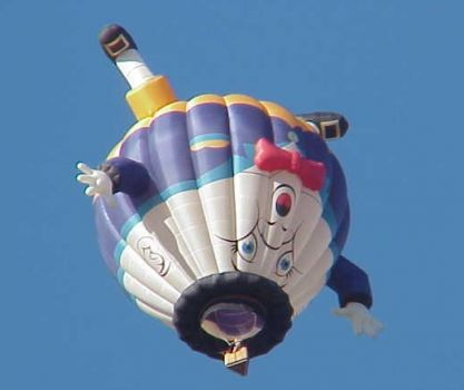 Humpty-dumpty balloon, Albuquerque