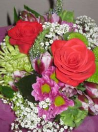 Beautiful Flowers from a Beautiful Friend
