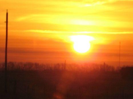 Kansas Sunrise 2-23-09