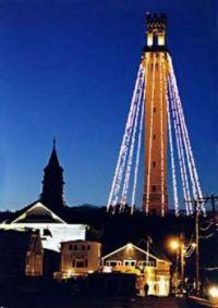 Lighting of the Pilgrim Monument