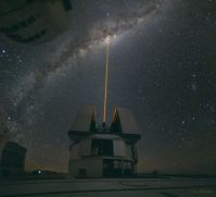 """A Laser Strike at the Galactic Center"""