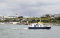 Plymouth Hoe and ferryboat.