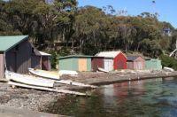 Boat sheds: Tasmaania