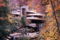 Frank Lloyd Wright's Falling Waters Pennsylvania USA