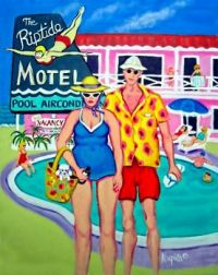 Tourist Season at the Riptide Motel by Rebecca Korpital