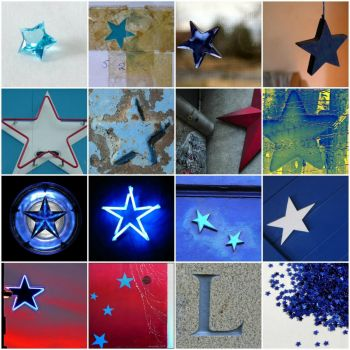 blue stars by Fun Monitor on flickr