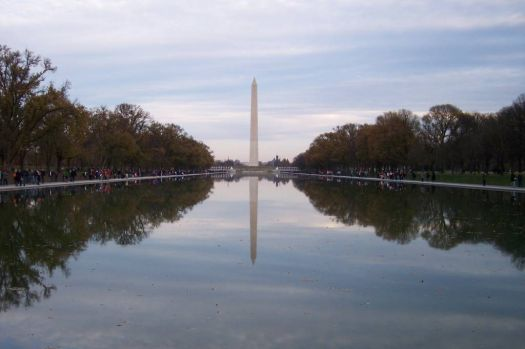 Washington Monument (as soon from the Lincoln Memorial