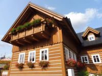 wooden house